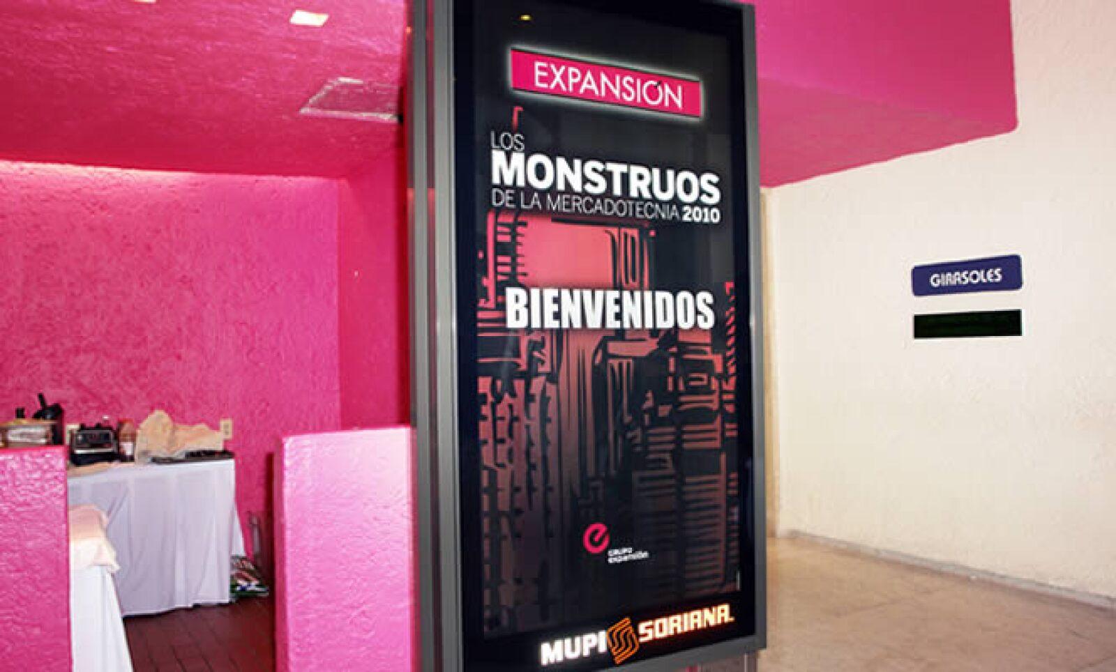 El evento de Monstruos de la Mercadotecnia se realizó el 27 de octubre en el hotel Camino Real.