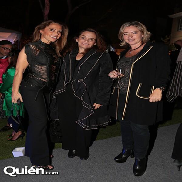Mónica Cortina,Karla Nagel,Alejandra Henaro