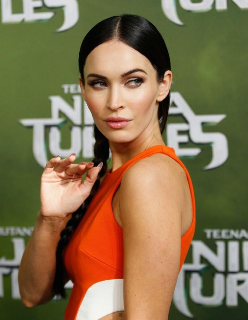 """La actriz se encuentra en Sidney promocionando la cinta """"Tortugas Ninja"""", donde debutó un pelo más corto y con un cambio de color."""