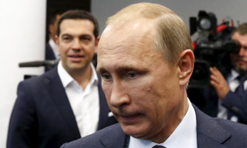 Existen pocas posibilidades de que Vladimir Putin ofrezca ayuda financiera a Grecia. (Foto: Reuters )