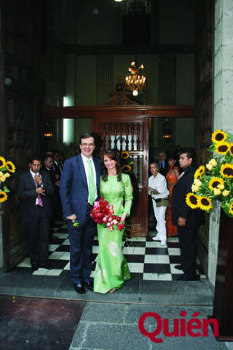 Marcelo Ebrard, Mariagna Prats