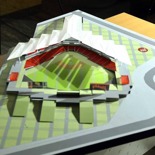 El nuevo estadio de los Diablos Rojos costará 60 millones de dólares y estará ubicado en el Distrito Federal.