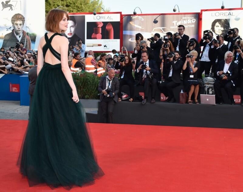 En el pasado la actriz recibió críticas por su esbelta figura, sin embargo luce mejor que nunca.