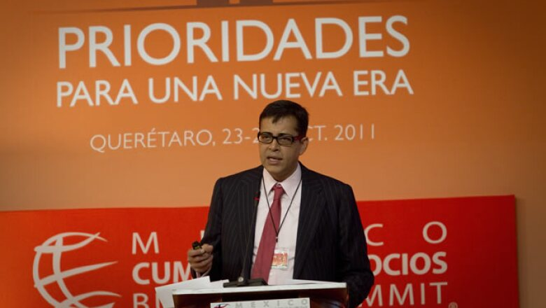 El doctor en economía por la Universidad de Harvard e investigador sobre la globalización fue otro de los ponentes en la Cumbre de Negocios.