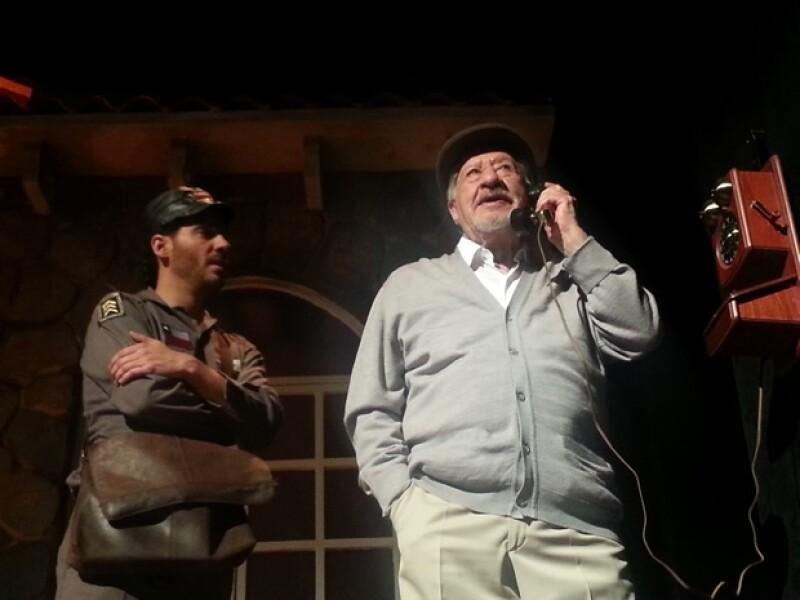 Erick Elías e Ignacio López Tarso.