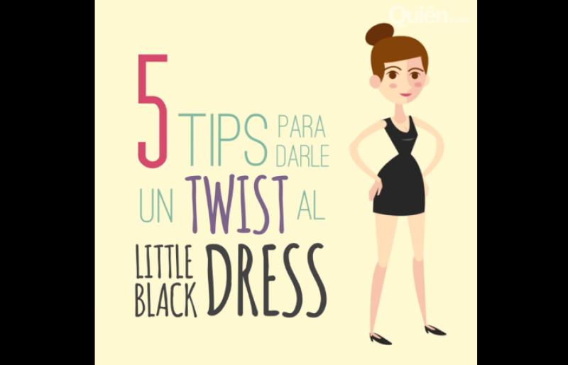 Un little black dress funciona como el camaleón de la moda. Nosotros te enseñamos cómo hacer para hacerlo ver súper cool y a la medida de tu personalidad.