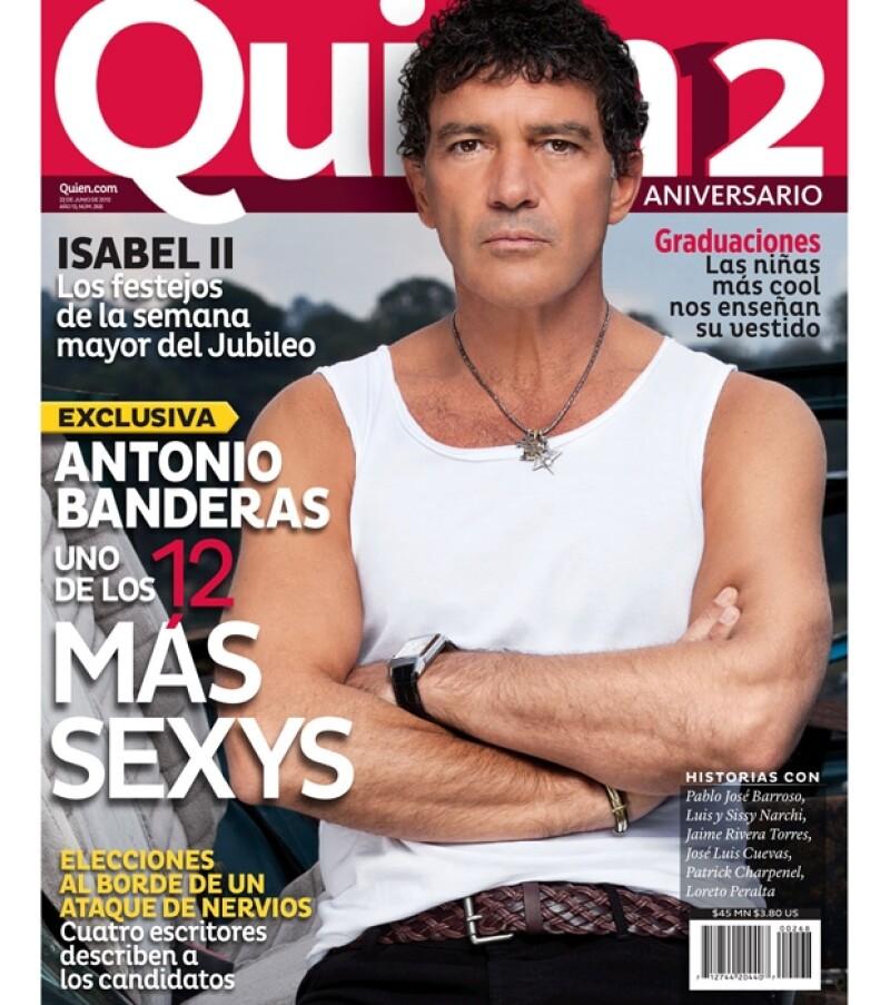 Como cada año llega una de nuestras ediciones más esperadas: los `12 más sexys´.  Y esta vez elegimos al reconocido español como nuestra portada.
