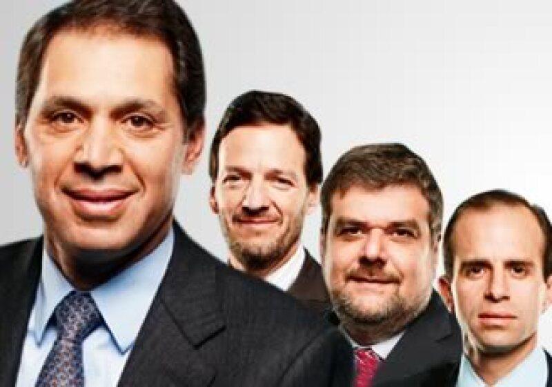Daniel Hajj, Carlos García Moreno, Marco Quatorze y Alejandro Cantú. (Foto: Especial)