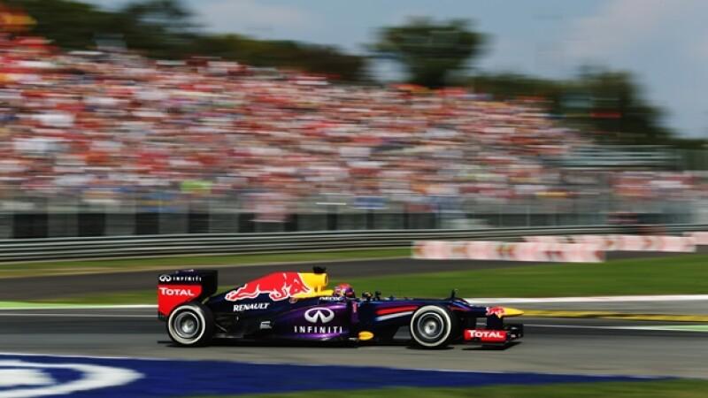 Vettel calificación GP de Italia