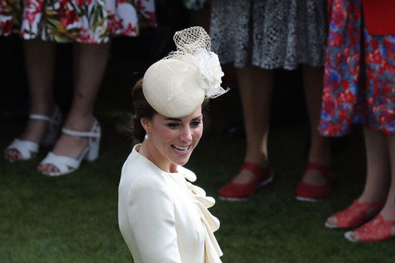 La duquesa de Cambridge fue al cumpleaños de la reina Isabel II luciendo el mismo look que llevó en el bautizo de su hijo, el príncipe George.
