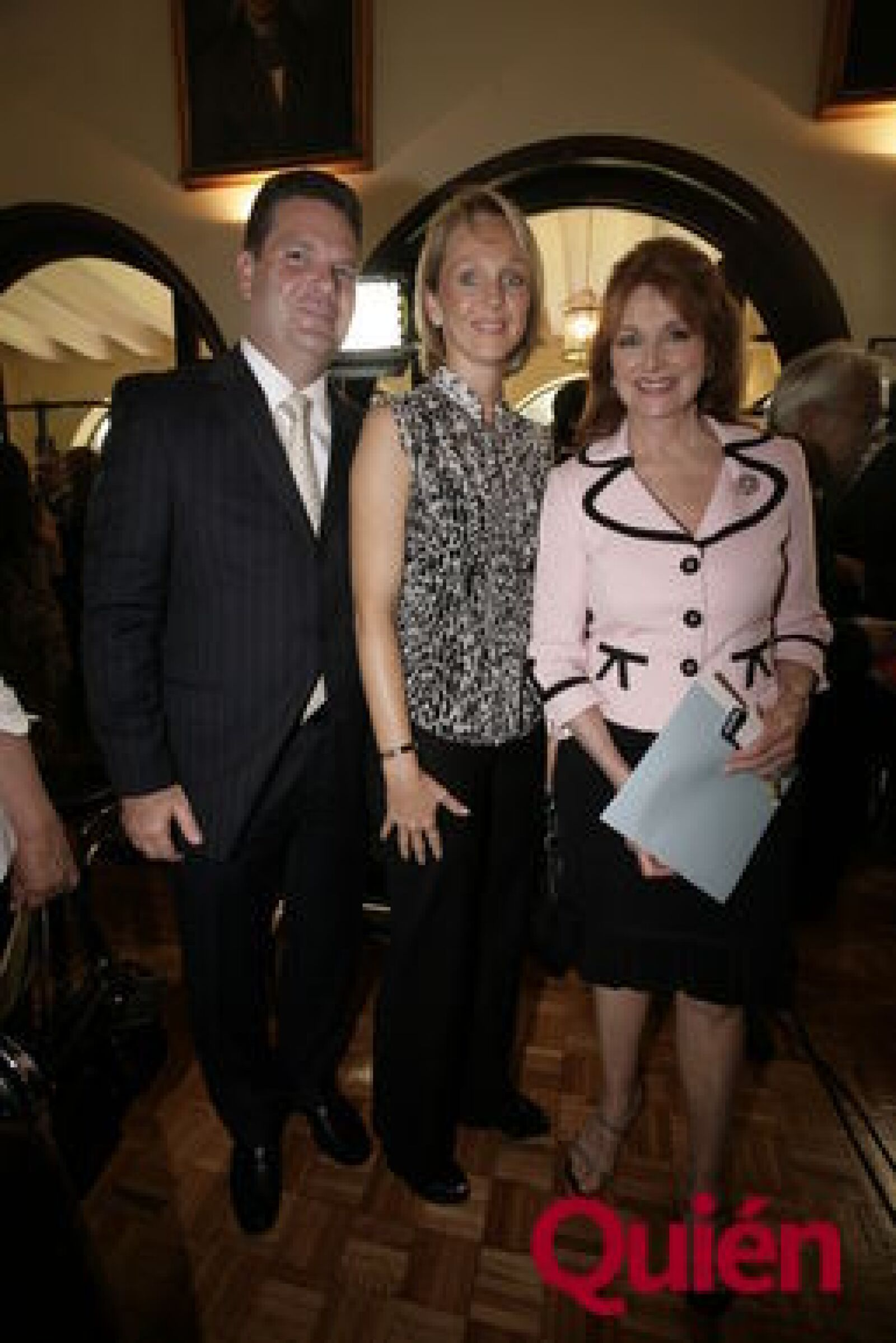 Arturo Castañer, Claudine Castañer, Christiane Magnani