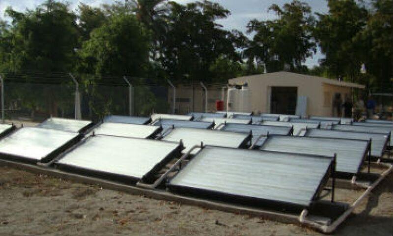 sistema aire acondicionado solar