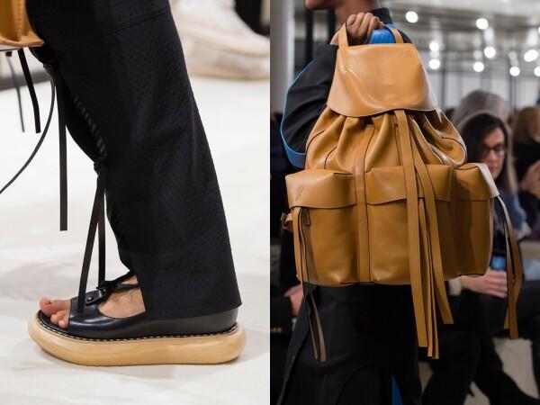 Loewe show, Detail, Fall Winter 2018, Paris Fashion Week, France - 02 Mar 2018