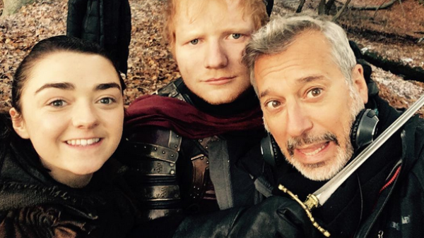 Maisie Williams, Ed Sheeran