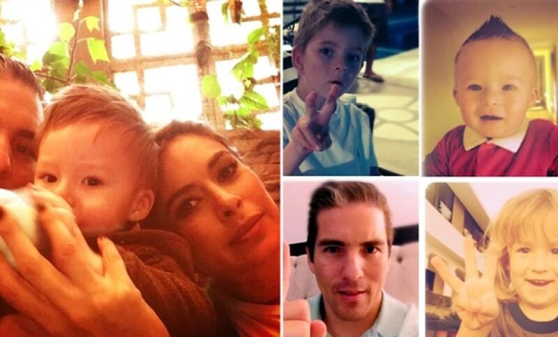La conductora de televisión confesó que ser mamá de tres es algo cansado pero que vale la pena.