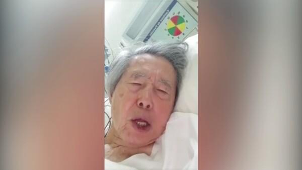 """""""No me maten"""", pide desde el hospital el expresidente peruano Alberto Fujimori"""