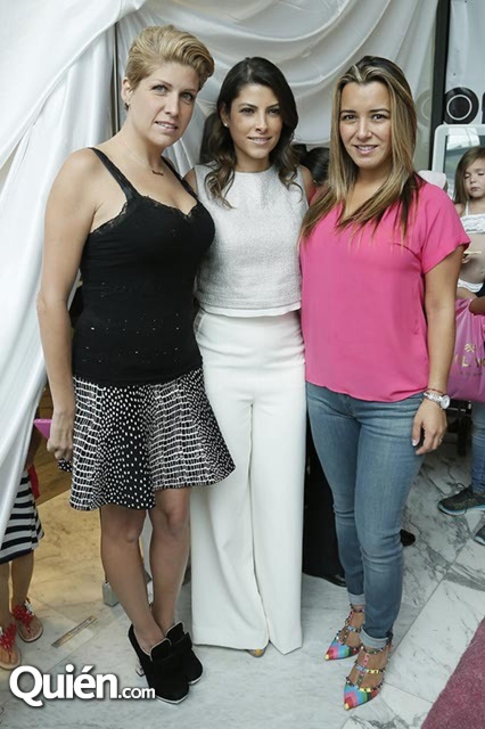 Paulina Díaz Ordaz,Sylvana Beltrones y Zsa Zsa JCorro