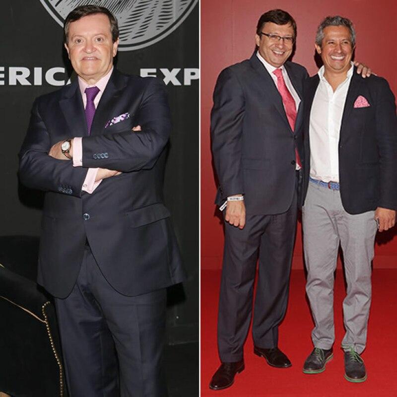 osé María Zas, Manuel Quintanero y Mauricio Galeano