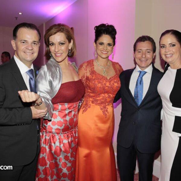 Ulrich Richter,Mónica Peláez,Perla Díaz de Ealy,Ricardo Peláez,Claudia Ramírez