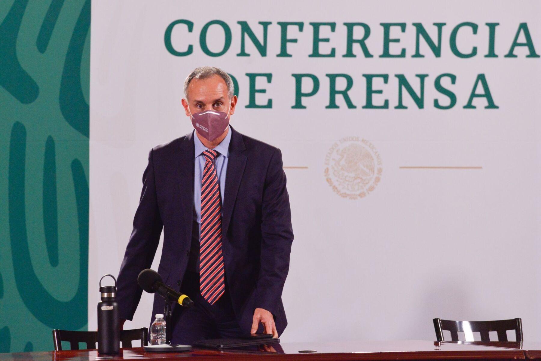 """López-Gatell: """"Estamos declarando el fin de las conferencias, no de la epidemia"""""""