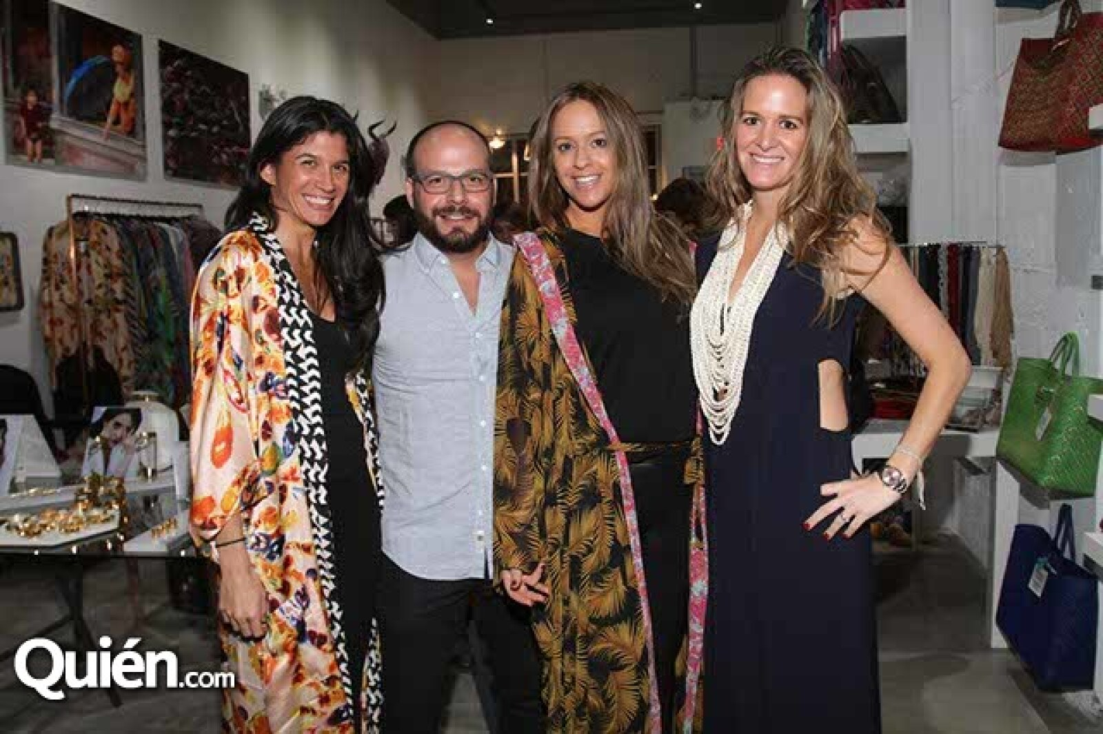 Ana Faría, Carlos Gamus, Tal Lucher Agay y Romina Amkle