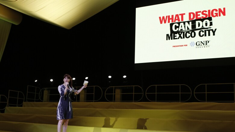 GALERÍA What Design Can Do Mexico City 2019