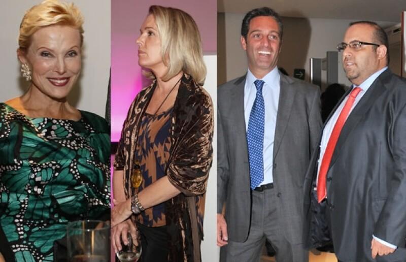 Raquel Bessudo, Sofía Corcuera, Carlos Slim Domit y Pablo Elías.