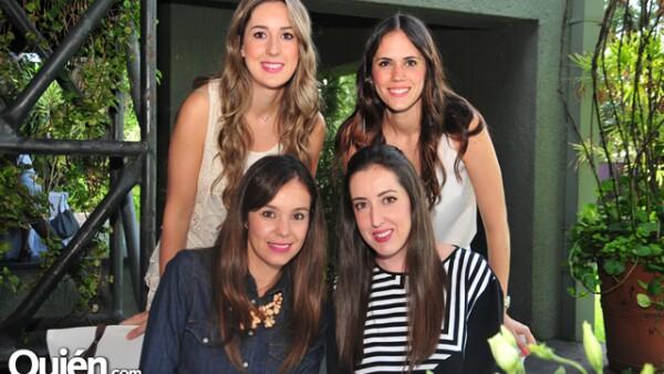 Pava González,Ana Paula Iturbide,Paulina Lamadrid,Carmen González