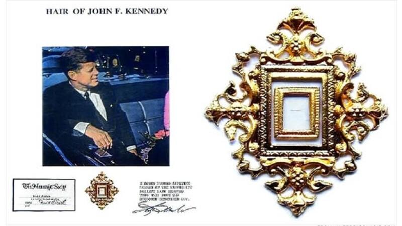 cabello john f kennedy coleccionista