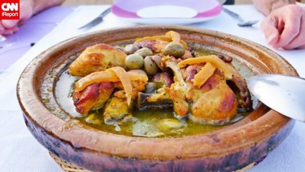 pollo Marrakech Marruecos
