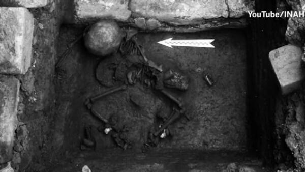 Arqueólogos del INAH descubren restos del segundo sacrificio a Huitzilopochtli