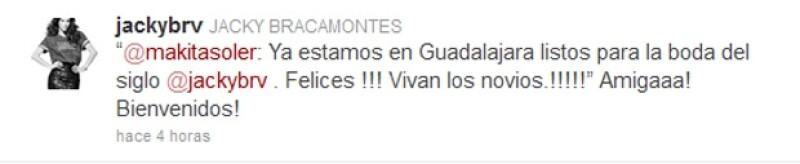 La actriz se casará hoy por la iglesia en su natal Guadalajara con Martín Fuentes.