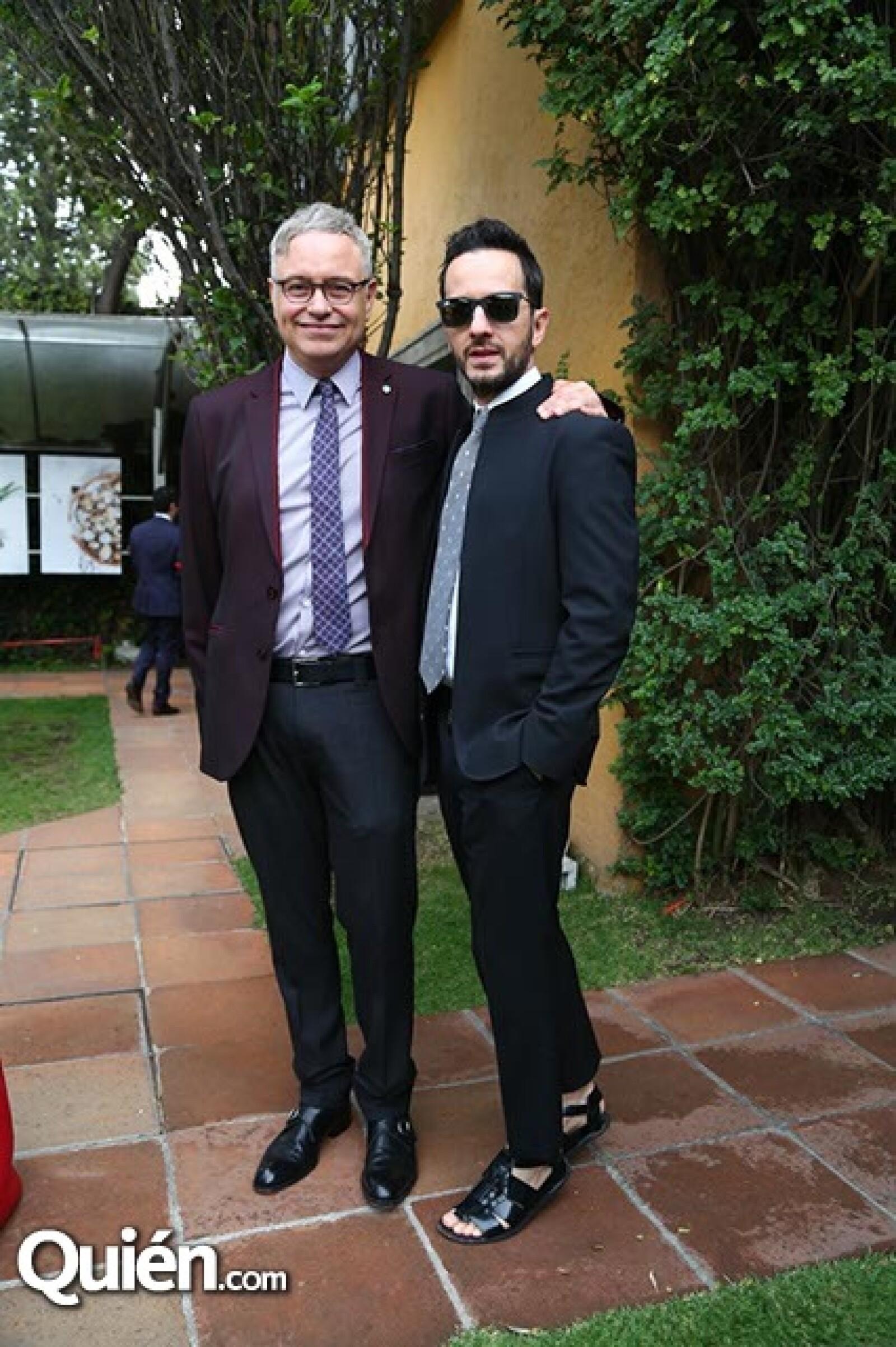 Ramón Corona y Óscar Madrazo