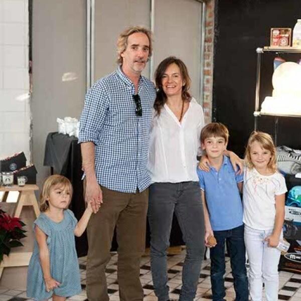 Yann Padron,Ilana Ospina e hijos