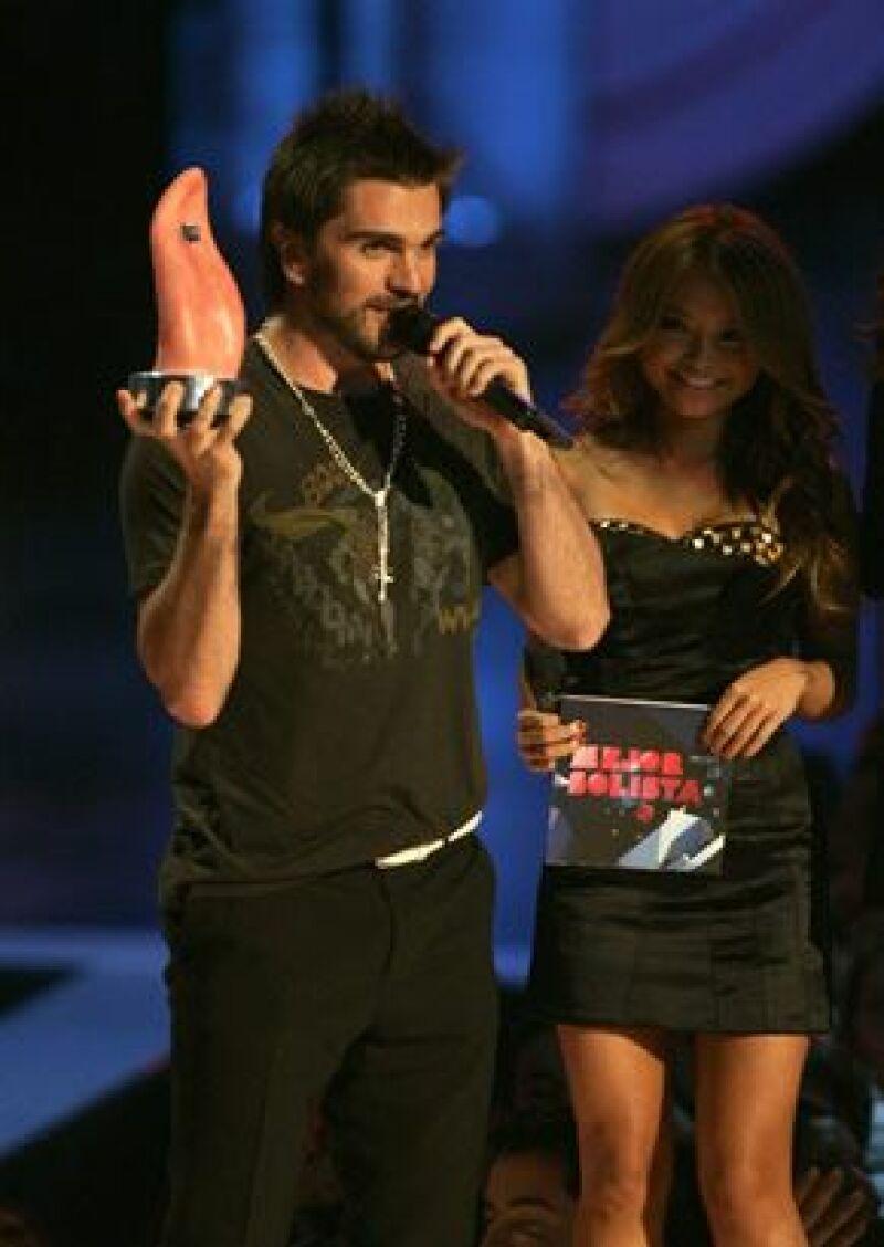 El cantautor colombiano está nominado en siete categorías en los premios MTV Latinoamérica.