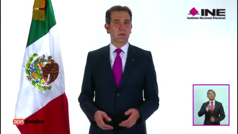 """""""Se registró una votación masiva"""", dice Lorenzo Córdova al cierre de casillas"""