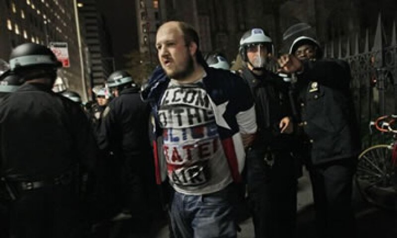 También se registraron desalojos de manifestantes en Oakland y Portland. (Foto: AP)