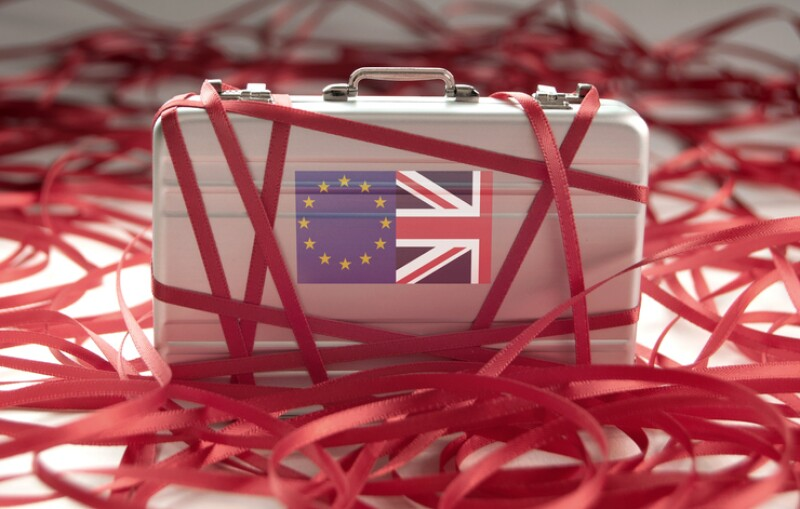 Brexit red tape concept