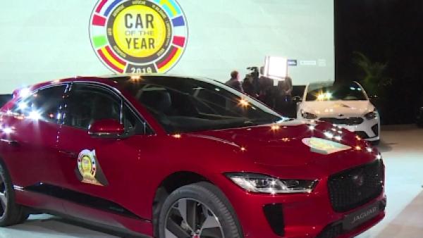 El Jaguar I-Pace, un auto totalmente eléctrico, es nombrado el auto del año
