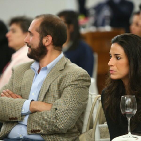 Andrés Martínez y Ana Paula Cacho
