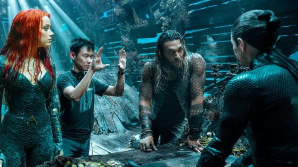 James Wan dirigiendo Aquaman.