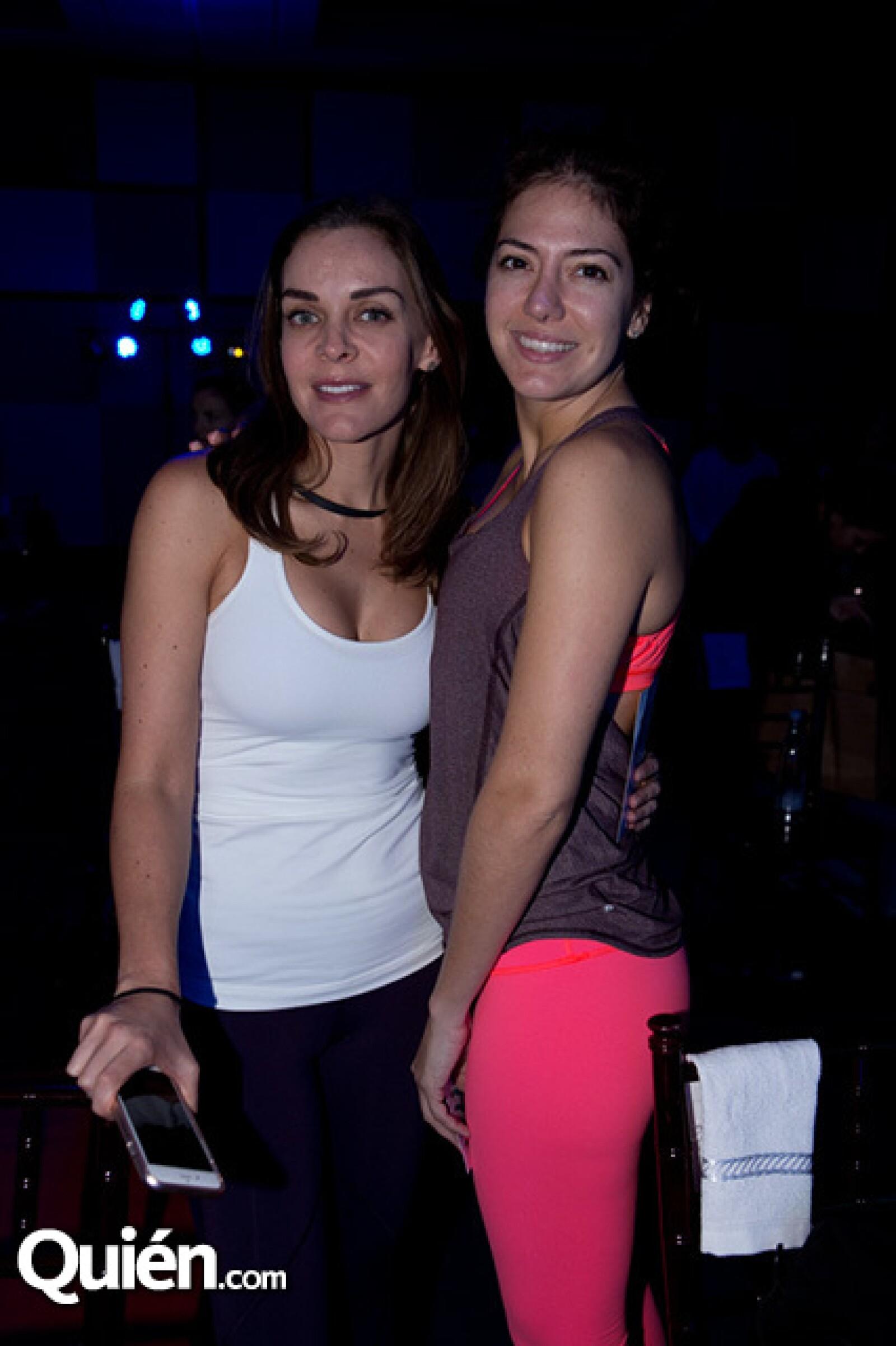 Cristina Salomón y Priscila Avellaneda