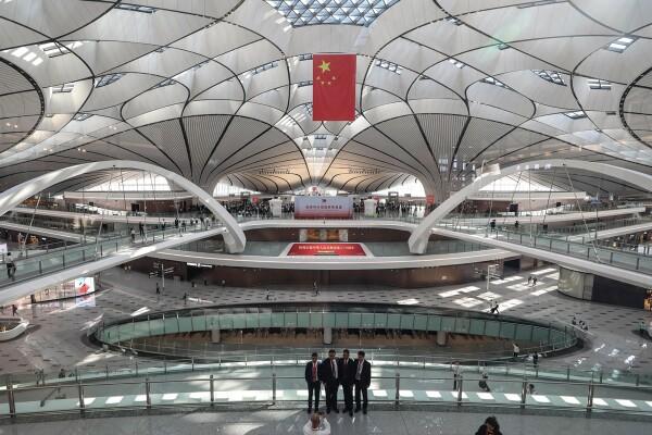 aeropuerto de Beijing inauguración