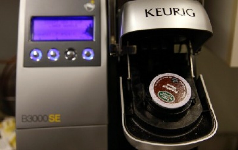 La línea de cafeteras de Keurig Green Mountain es una de las más reconocidas en el mercado (Foto: Reuters)