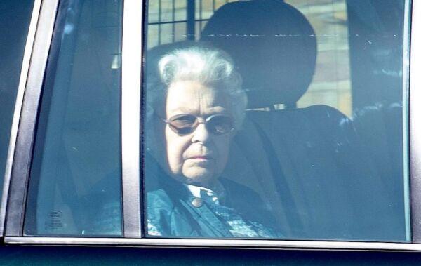 Queen Elizabeth II leaving Windsor Castle, UK - 16 Mar 2020