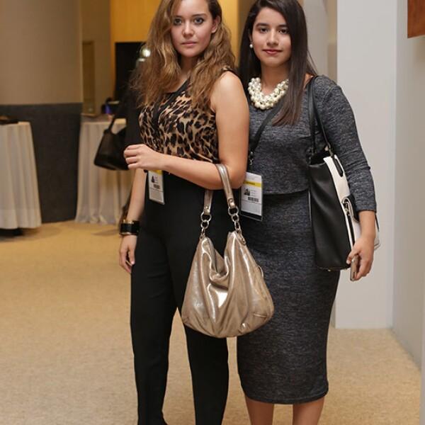 Estefanía Aguilar y Ana Sofía Vázquez