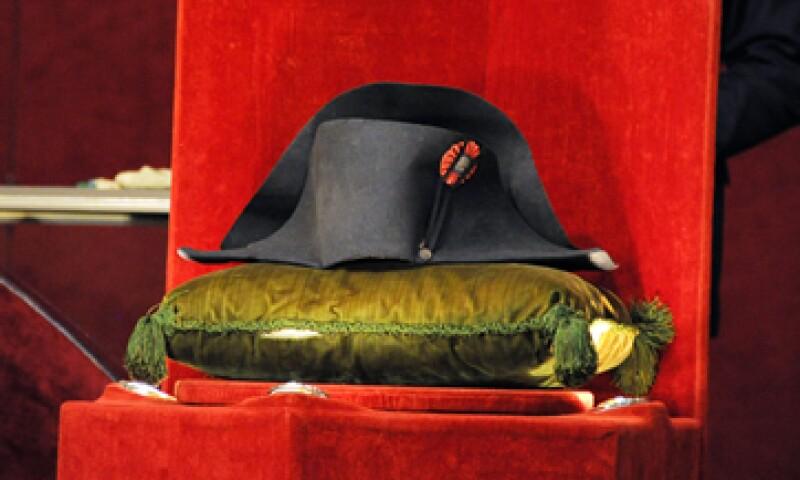 El sombrero está  hecho en fieltro llamado de castor negro. (Foto: AFP )
