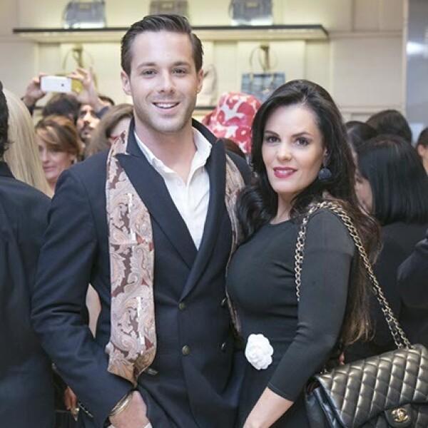 Iván Rodriguez y Gabriela Murillo