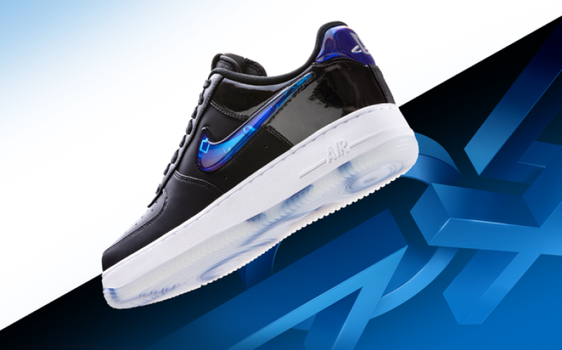 Play Station x Nike Air