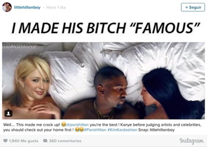 La famosa empresaria le dio like a un post de un fan que recalcó lo importante que fue ella para que la esposa de Kanye West se volviera famosa.